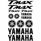 Yamaha Tmax Decal Stickers kit
