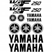 Yamaha Wrf 250 Decal Stickers kit