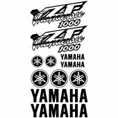 Yamaha Yzf Thunderace 1000 Decal Stickers kit